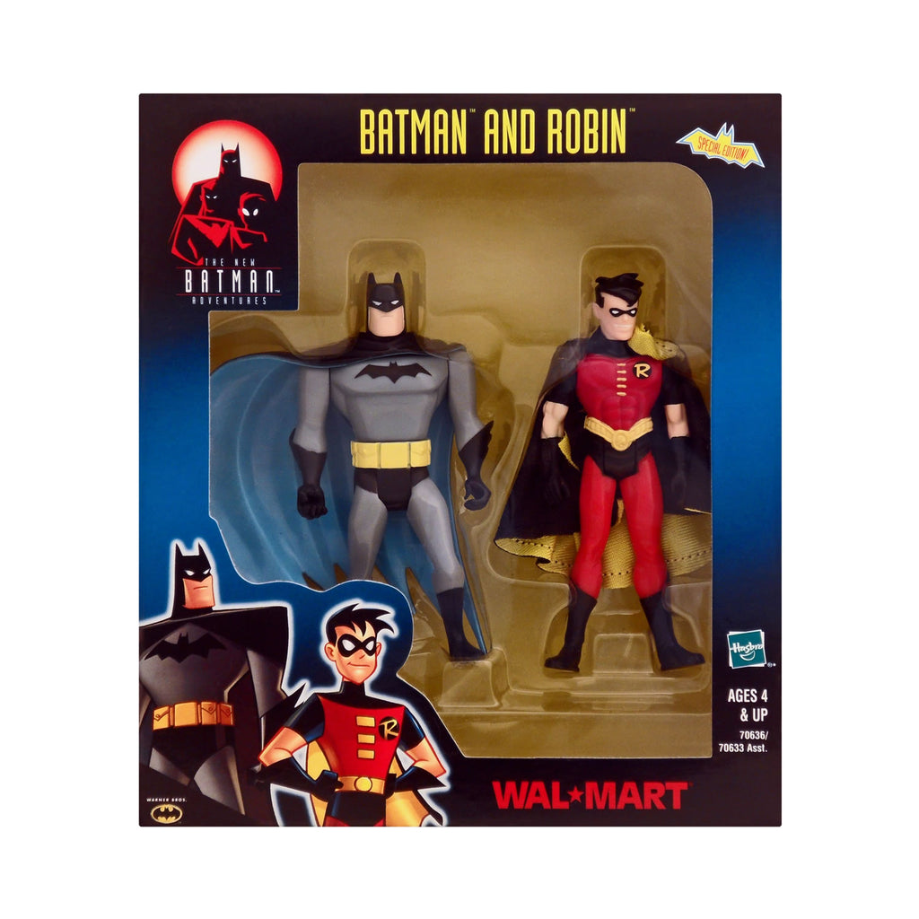 Wal-Mart Exclusive Batman and Robin from The New Batman Adventures