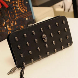 Hot Sale Metal Skull Wallet