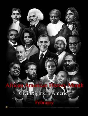 Item # B14A African American History Month Civil Rights in America (GSA)