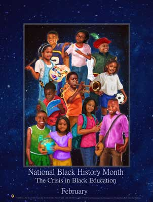 Item# B17 2017 Black Month The Crisis in Black Education.. (GSA)