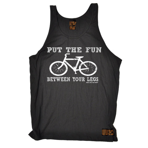 Ride Like The Wind Put The Fun Between Your Legs Cycling Vest Top