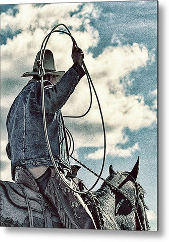 Color Roper Metal Print