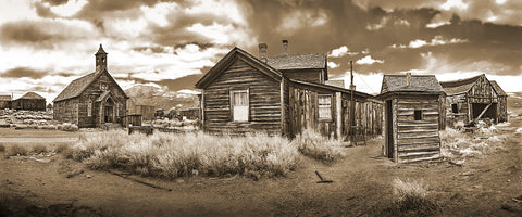 Bodie Ghost Town Sepia