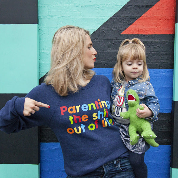 Mother Pukka x Parent Apparel 'Parenting The Shit Out Of Life' Sweatshirt - Parent Apparel Ltd - 2