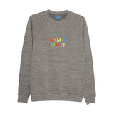 GYM & ON IT super soft sweatshirt grey - Parent Apparel Ltd