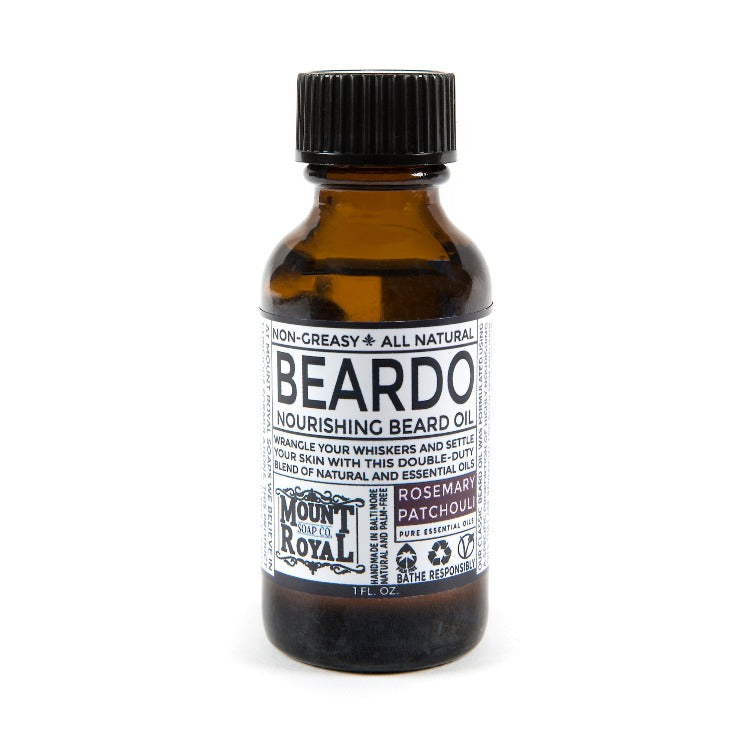 Patchouli & Rosemary Beard Oil