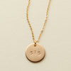 "The Sis' Necklace - 1/2"" Disc"