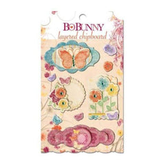 Bo Bunny Press - Ambrosia - Layered Chipboard
