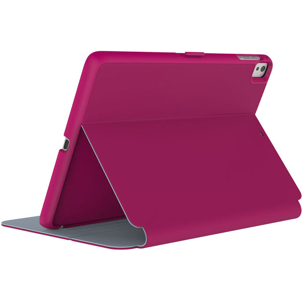 Speck Apple iPad Pro 9.7 StyleFolio Case - Fuschia Pink And Nickel Gray