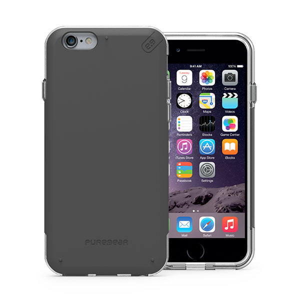 PureGear iPhone 6s Plus / 6 Plus DualTek Pro Case - Black / Clear