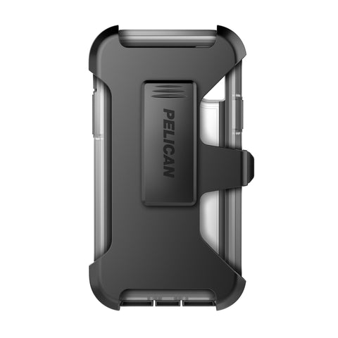 Pelican Voyager Case and Holsterfor Apple iPhone X - Clear/Gray