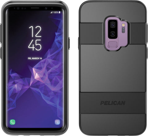 Pelican Voyager Case and Holster for Samsung Galaxy S9+ - Black