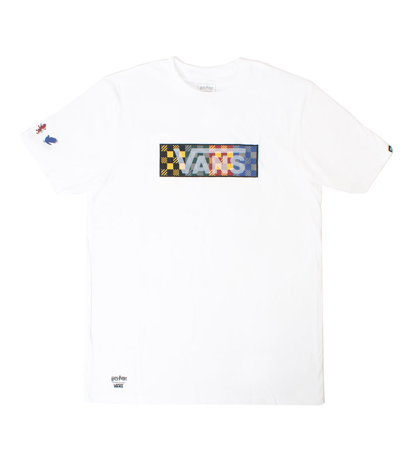 Harry Potter Four Houses S/S Tee (White)