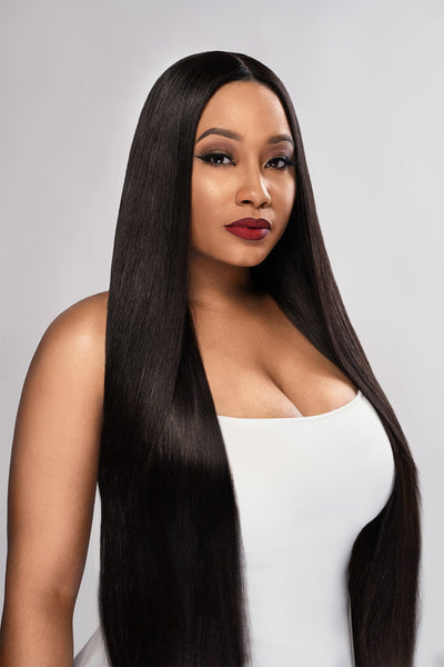Brazilian Straight Bundle Deal w Closure