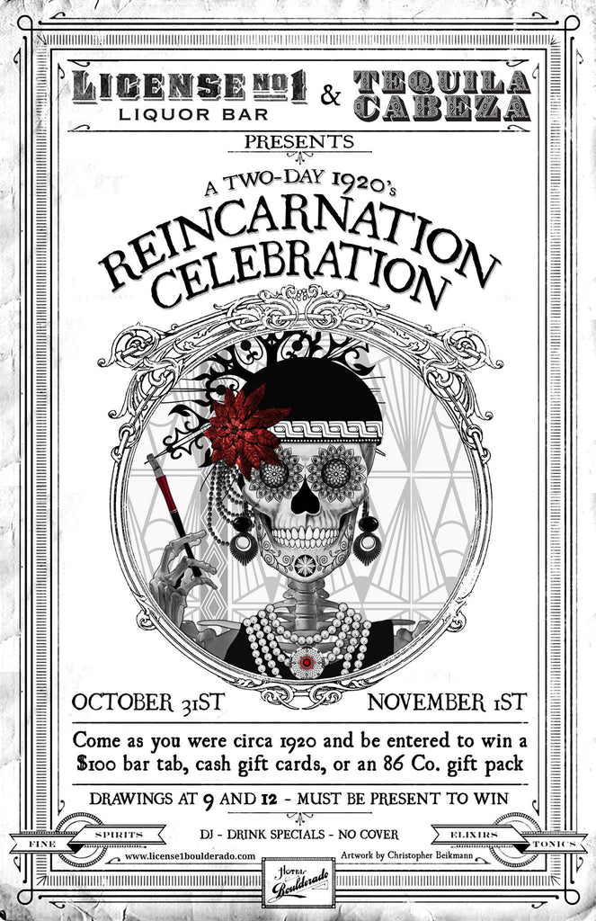 Reincarnation Celebration & Artshow - Oct 31st 2014