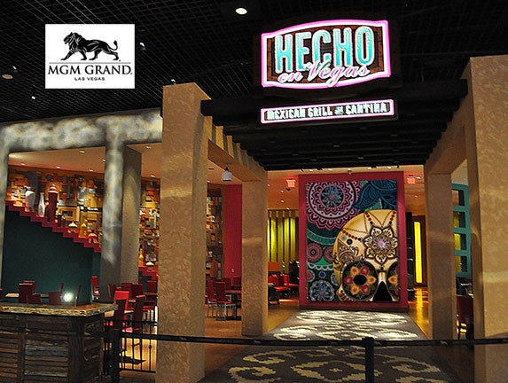 New Mexico Artist Christopher Beikmann Featured at MGM Las Vegas - Sugar Skull Sombrero
