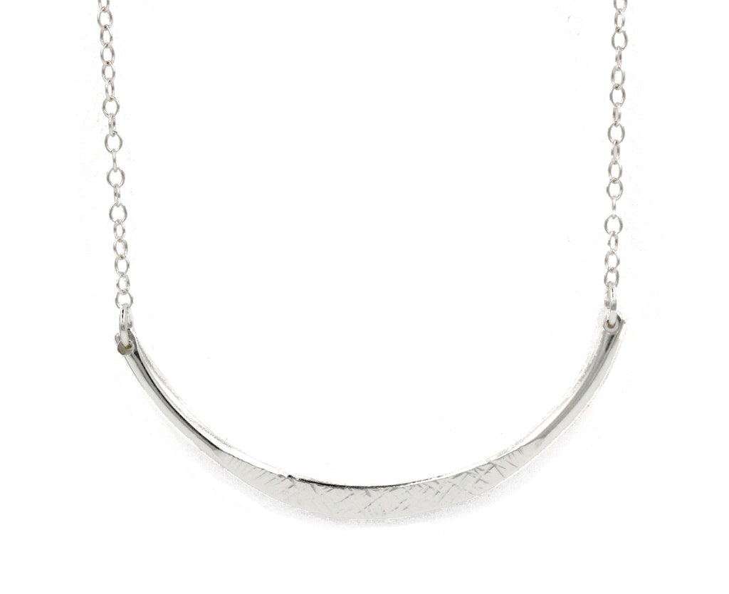 Devin, 14kt Gold Filled or Sterling Silver Arc Necklace
