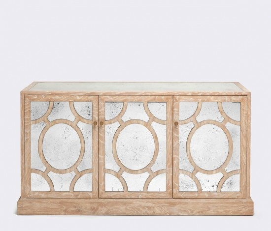 Antiqued Mirrored Buffet