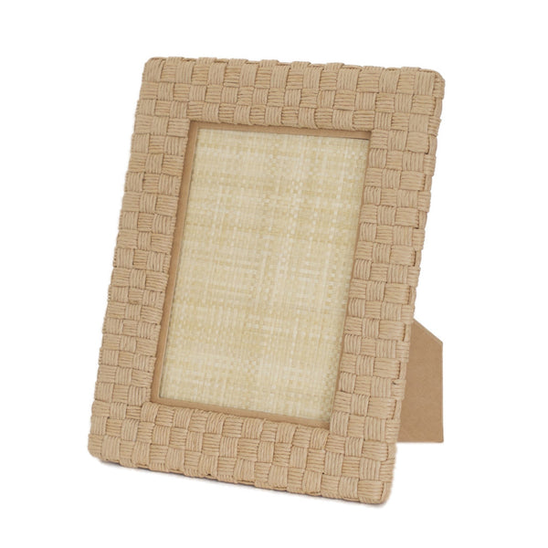 Genova Natural Rope Picture Frame, 5X7