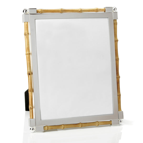 William Yeoward Classic Bamboo and Silver Frame, 8X10