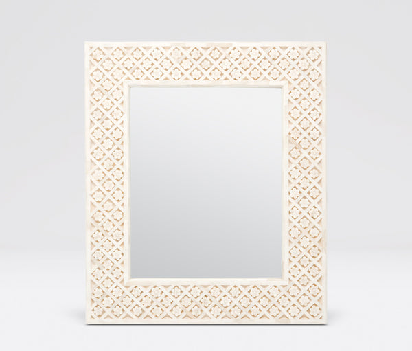 Flower Lattice Bone Mirror