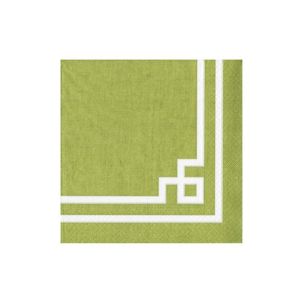 Rive Gauche Moss Green Cocktail Napkins