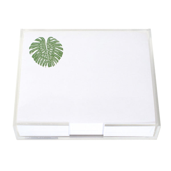 Monstera Large Notepad