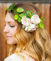 Permanent Wild Rose and Vine Headpiece