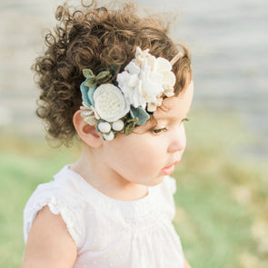 Rustic Neutrals Mini Crown