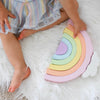 Pastel Rainbow Learning Stacker
