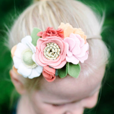 Peaches & Creme Mini Crown