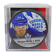 Maple Leafs Rielly Player Cube Puck