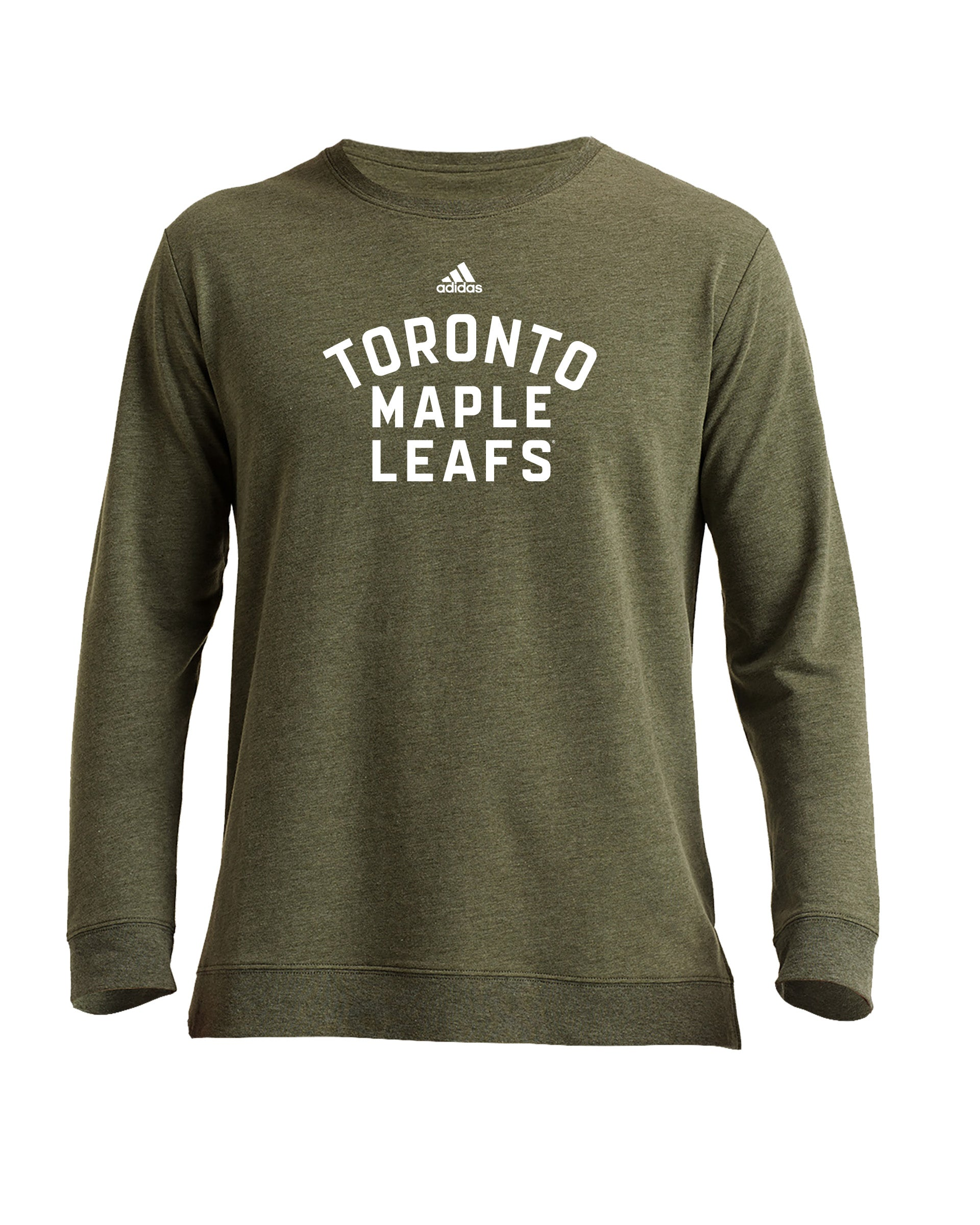 Maple Leafs Adidas Men's Camo Light Crew