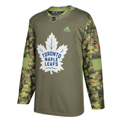 Maple Leafs Men's Authentic Practice Camo Jersey