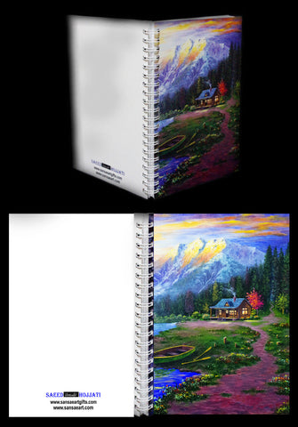 Kananaskis Country Journal with Plain White Paper