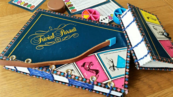 TRIVIAL PURSUIT journal notebook - with a twist!