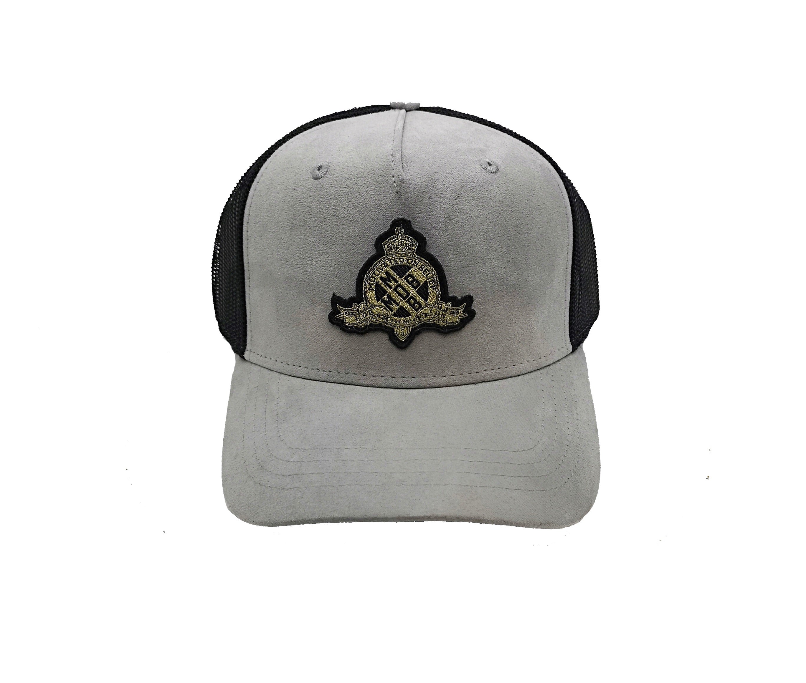 Royal X Emblem Trucker CAP (Grey)