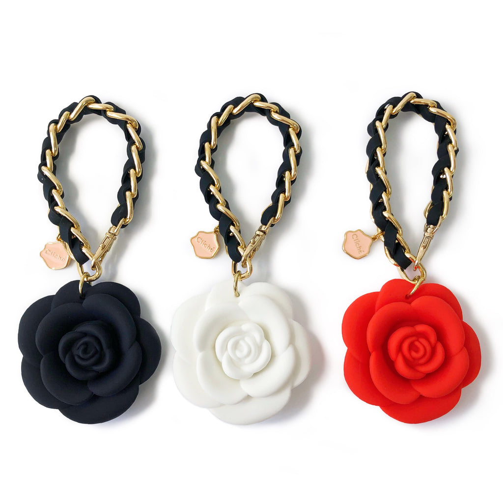 Happy Charm - Blossom Flower with Strap