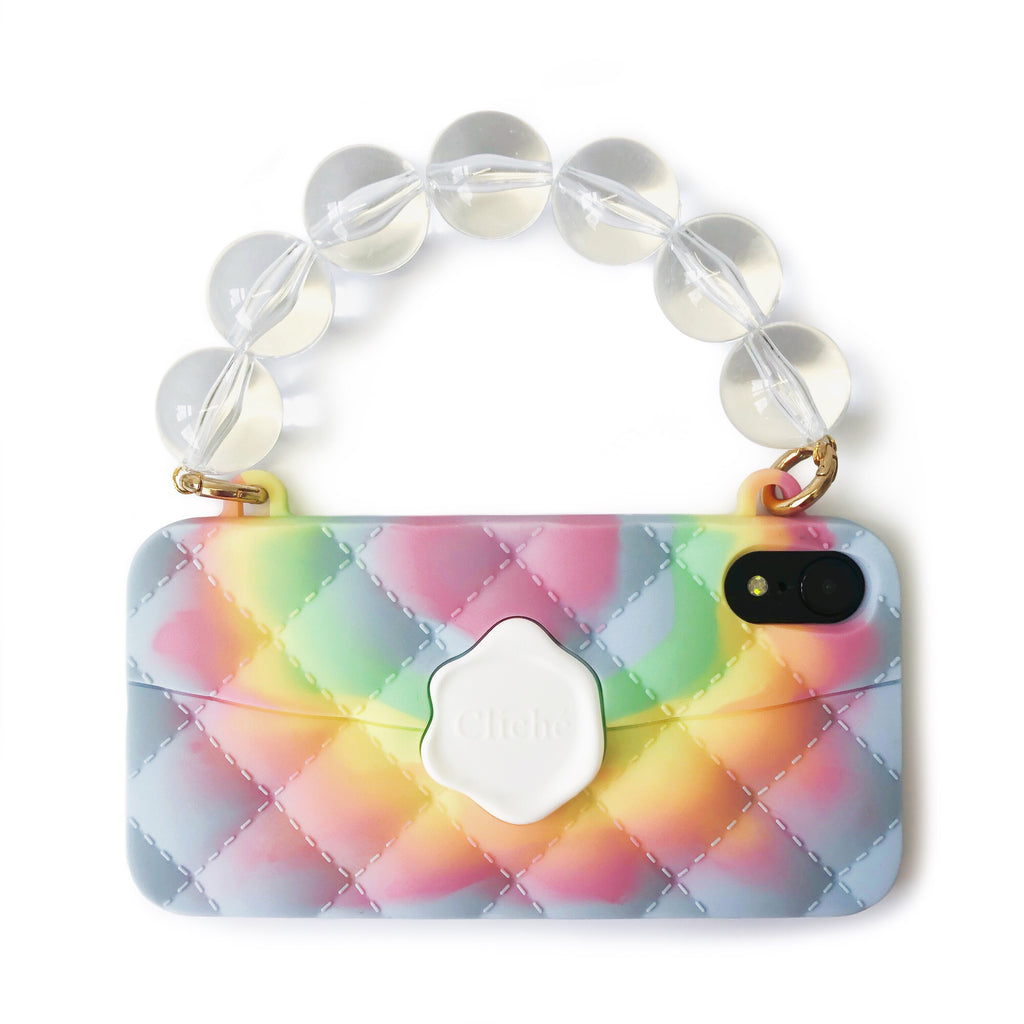 iPhone XR Tie Dye Seal Stamped Case