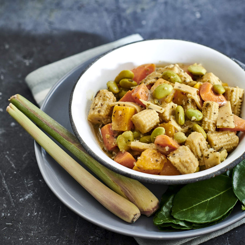 Thai Green Vegetable Curry (V+)