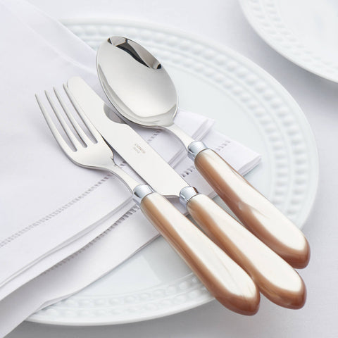 CAPDECO Omega 4-Piece Cutlery Set in Horn