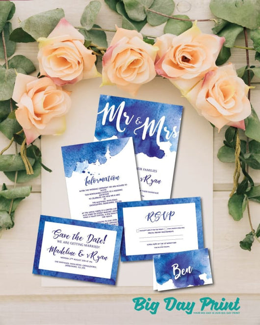 Flat Wedding Stationery Diamond Deal