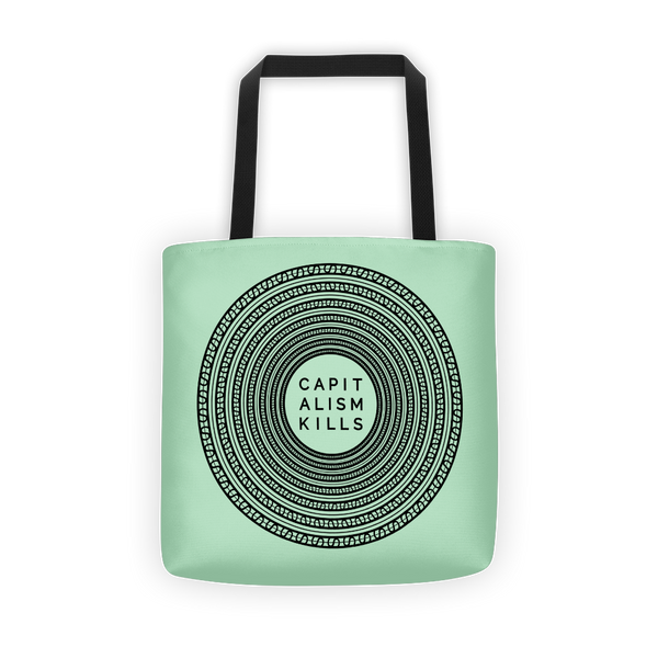Capitalism Kills - Tote bag