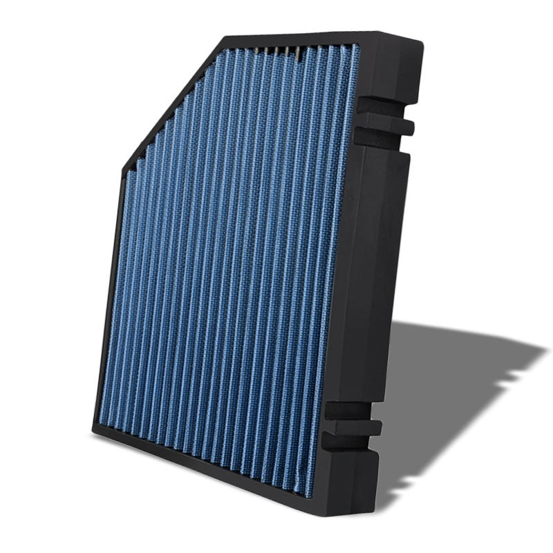 Blue High Flow OE Style Drop-In Panel Cabin Air Filter For Audi Q5/Porsche Macan-Interior-BuildFastCar