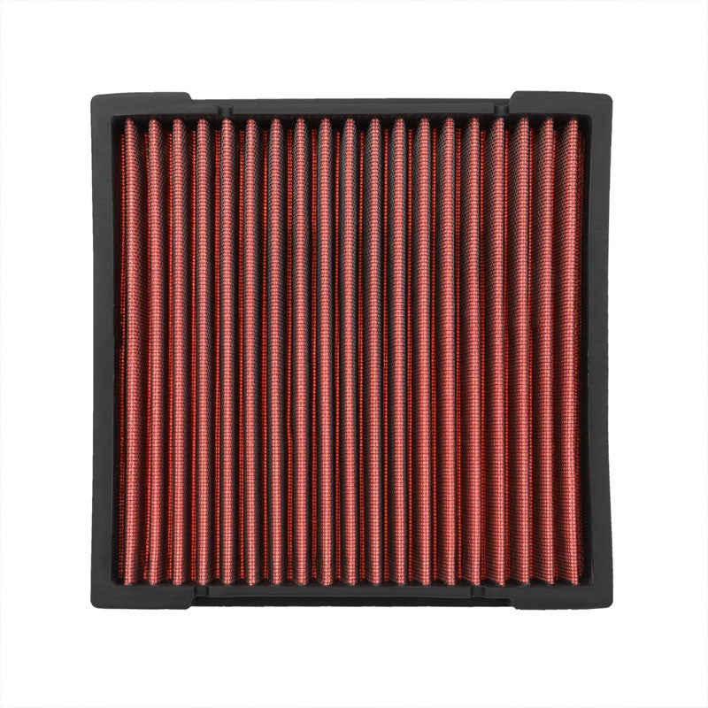 Red High Flow OE Style Drop-In Panel Cabin Air Filter For 11-16 Honda CR-Z-Performance-BuildFastCar