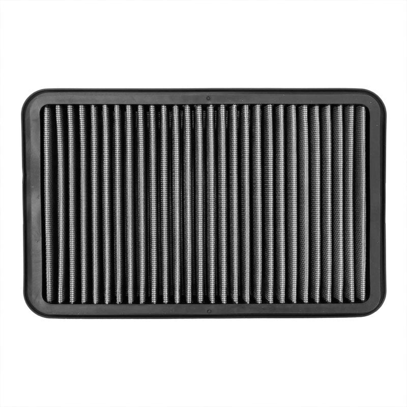 Silver Cotton OE Style Drop-In Panel Air Filter For 92-02 Toyota Corolla 1.6L-Filter-BuildFastCar-BFC-AIRFILPAN-183-SL
