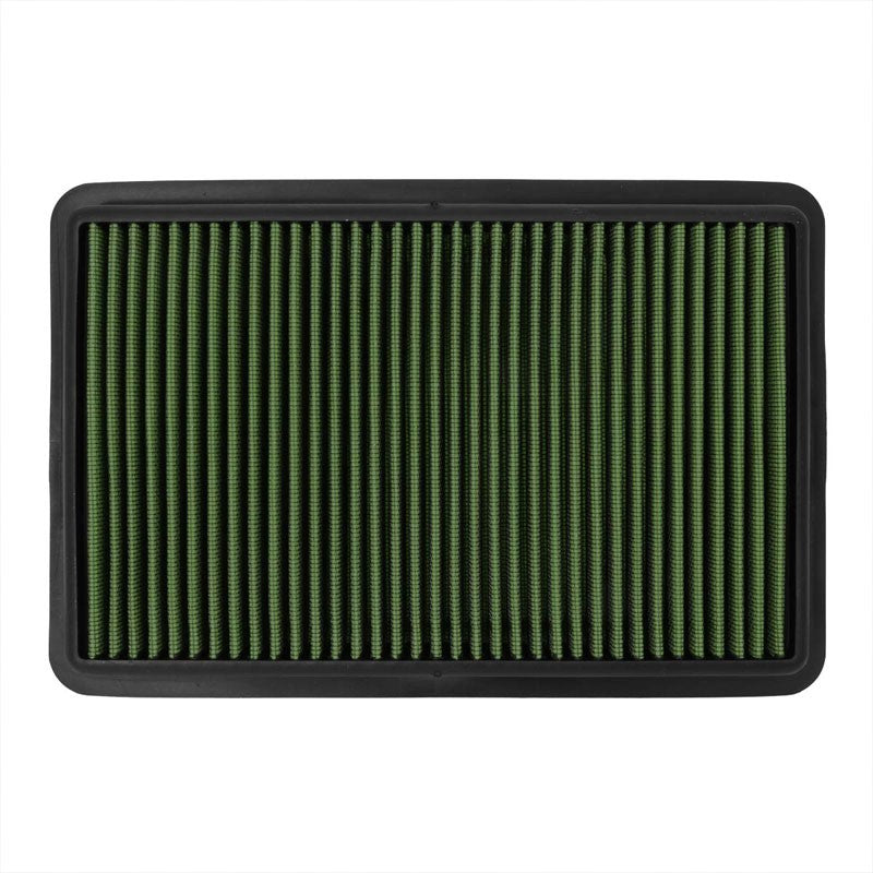 GreenCotton OE Style Drop-In Panel Air Filter For 12-18 Mazda 3 2.0L/2.3L/2.5L-Filter-BuildFastCar-BFC-AIRFILPAN-184-GN