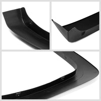 4PC Black OE Style Wheel Fender Flares Guard Cover For 07-13 Chevy Silverado-Exterior-BuildFastCar