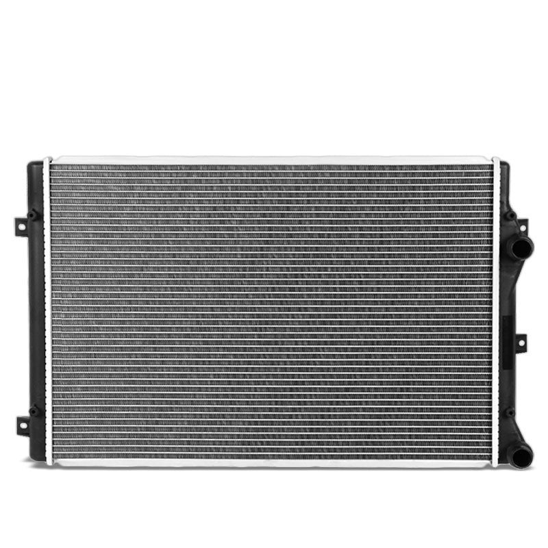 1-Row OE Style Direct Replacement Aluminum Radiator For 08-16 VW Jetta 2.0L-Cooling Systems-BuildFastCar-BFC-RADOE-13212