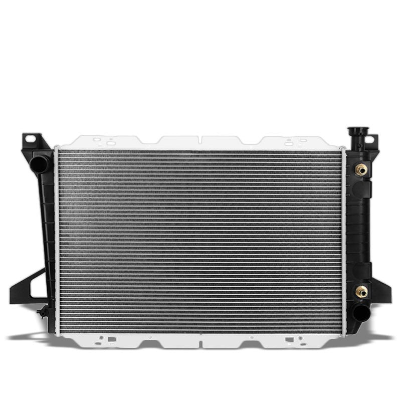 2-Row OE Style Direct Replacement Aluminum Radiator For 85-96 Ford F-150 4.9L-Cooling Systems-BuildFastCar-BFC-RADOE-1454